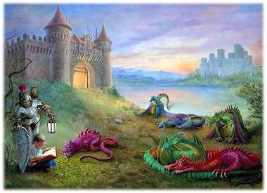 """Hablan de nosotros en """"Dragones en el país de los libros"""""""